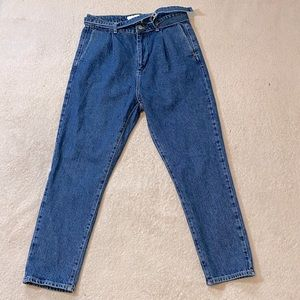 Topman 80's Tapered Leg Mom Style Jeans